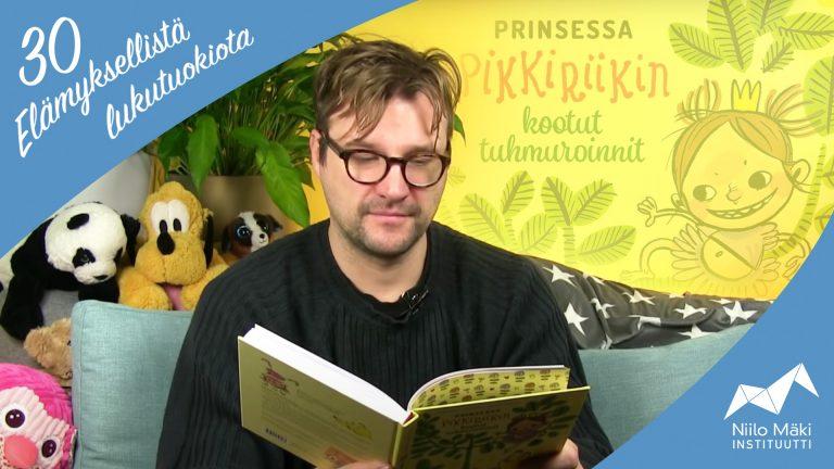 Lukutuokio 23: Prinsessa Pikkiriikin kootut tuhmuroinnit
